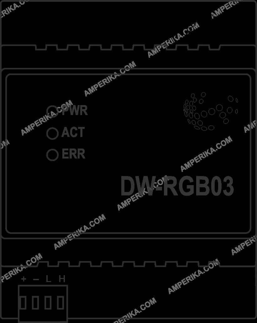 DW-RGB03 9-канальный LED контроллер