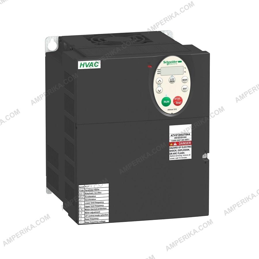 Частотный преобразователь ATV212HD11N4 11,0 кВт,480В, IP21